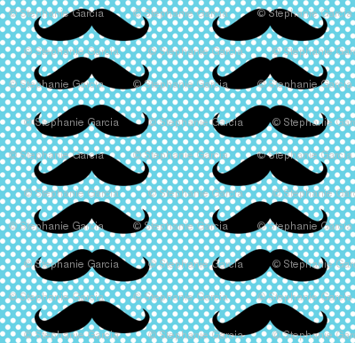 Blue Mustache Polka