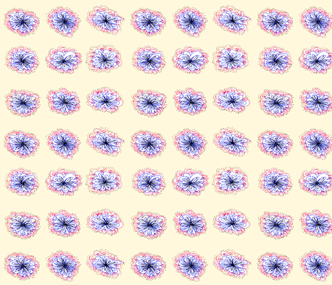 Ballpoint Pen Florals fabric by franny711 on Spoonflower - custom fabric