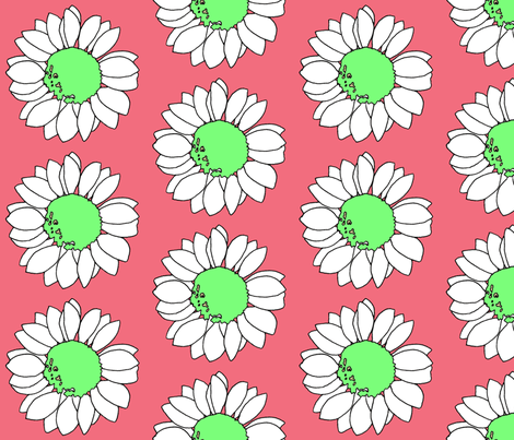 flower power #1 fabric by hipfifty on Spoonflower - custom fabric