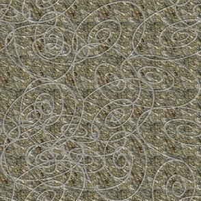 Spirals on Marble