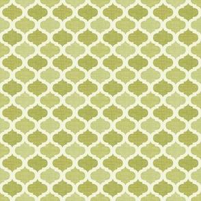 Linen tile OLIVE