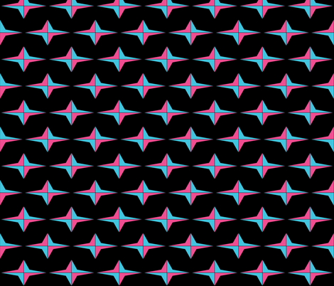 Star Spin  fabric by sterlingrun on Spoonflower - custom fabric