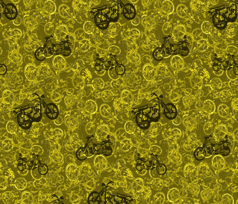 Motorsycles fabric by catail_designs on Spoonflower - custom fabric