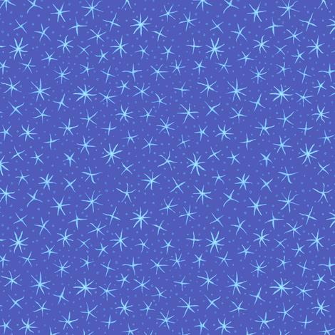 stellate whimsy - evening sky fabric by weavingmajor on Spoonflower - custom fabric