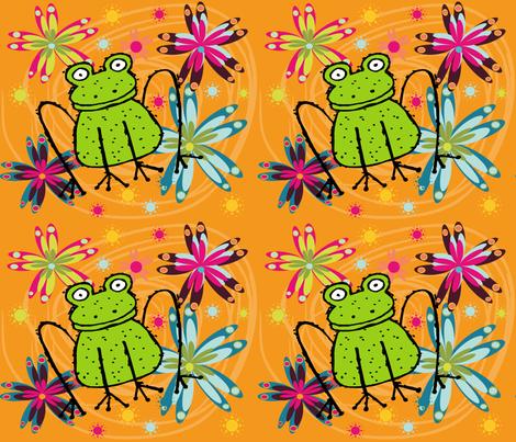 BIG FROGGY fabric by deeniespoonflower on Spoonflower - custom fabric