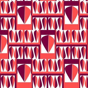 le coquillage-aubergine rose