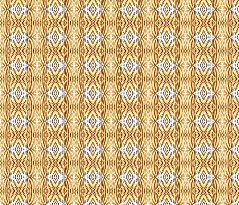 Tiger Stripes - small (mirror) fabric by painter13 on Spoonflower - custom fabric