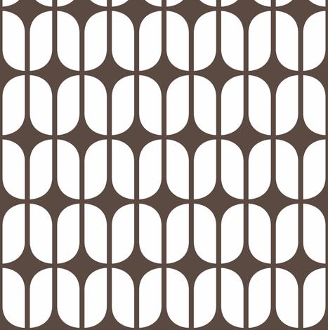 Modular Brown fabric by brainsarepretty on Spoonflower - custom fabric