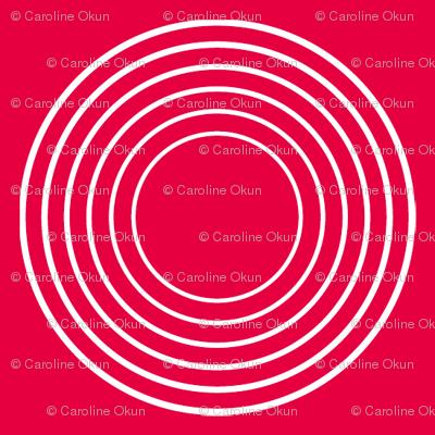 Modular Red Circles