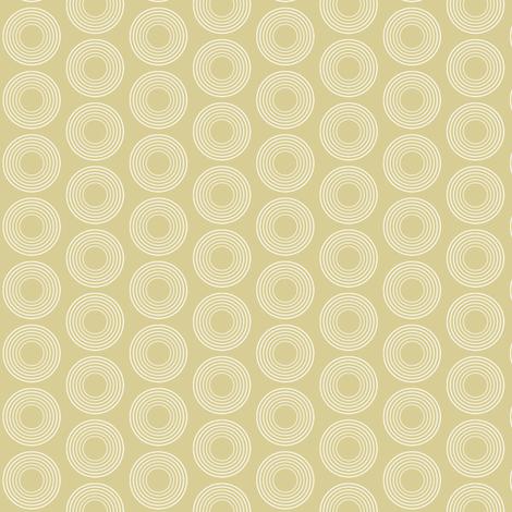 Modular Beige Circles fabric by brainsarepretty on Spoonflower - custom fabric