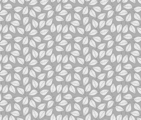 LEAFY fabric by biancagreen on Spoonflower - custom fabric
