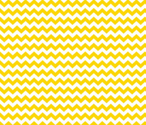 White and yellow chevrons. fabric by pininkie on Spoonflower - custom fabric