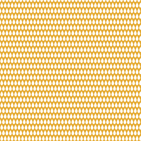 Tiny Pip (golden) fabric by mondaland on Spoonflower - custom fabric