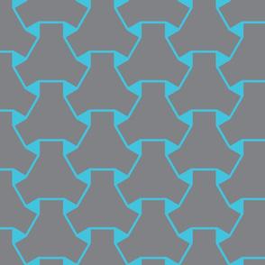 Scaleable Geometric Pattern tile-ch