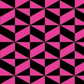 Pink Block Illusion