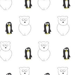 Penguin and Bear