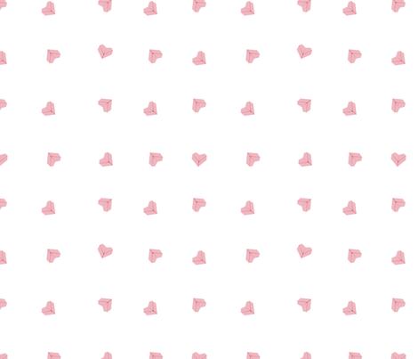 Origami Hearts fabric by drizzlydaydesignco on Spoonflower - custom fabric