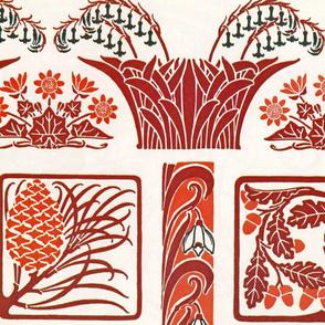 Vintage art nouveau designs