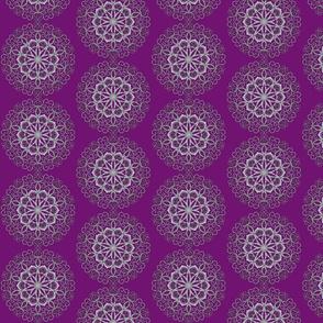 Filigree purple 01