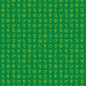 alchemy planet symbols 4