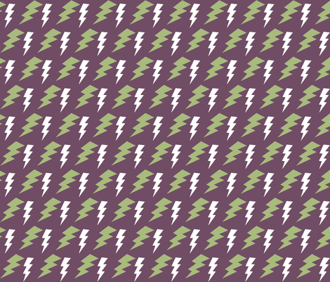 CYCLONE LIGHTNING BOLTS fabric by bluevelvet on Spoonflower - custom fabric