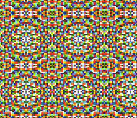 Kaleidoscope 12 fabric by greennote on Spoonflower - custom fabric