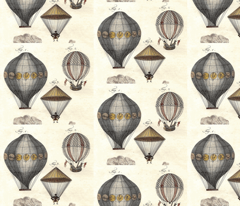 Up In the Air-ch fabric by flyingfish on Spoonflower - custom fabric