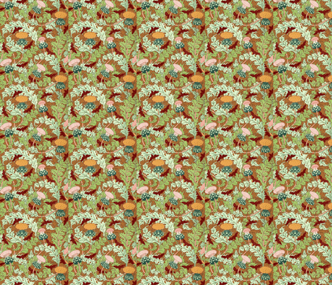 Thistles-ch fabric by flyingfish on Spoonflower - custom fabric