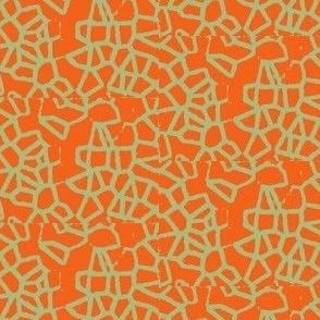 Crystal Haze tangerine Sage