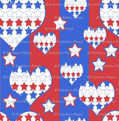 Stars and Stripes and Hearts Forever