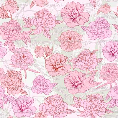 Pink peones