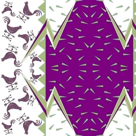 CYCLONE WEATHERVANE fabric by bluevelvet on Spoonflower - custom fabric