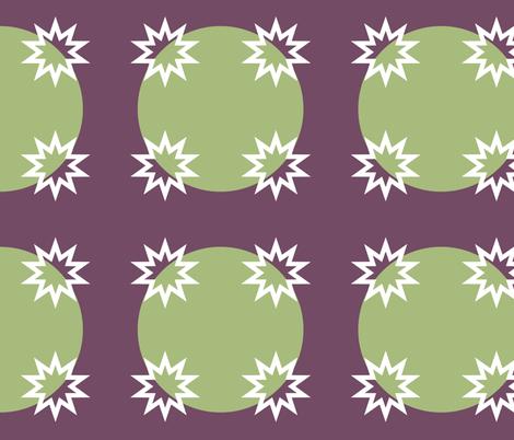 geostarcirclepanel fabric by tequila_diamonds on Spoonflower - custom fabric