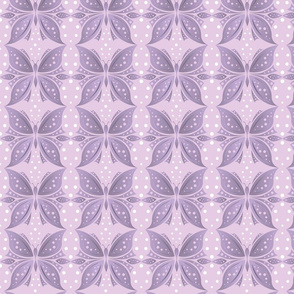 Pattern Abstract Butterfly