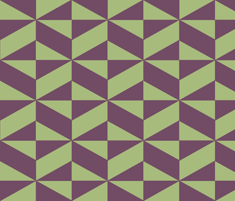 Geometric Illusion fabric by sterlingrun on Spoonflower - custom fabric
