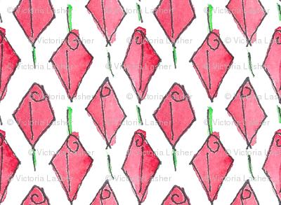 Modish blushing rosebud box - small
