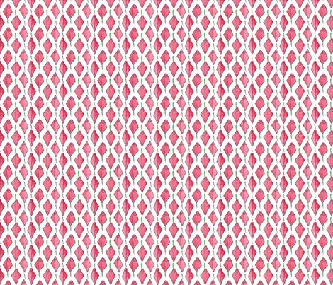 Modish blushing rosebud box - small fabric by victorialasher on Spoonflower - custom fabric