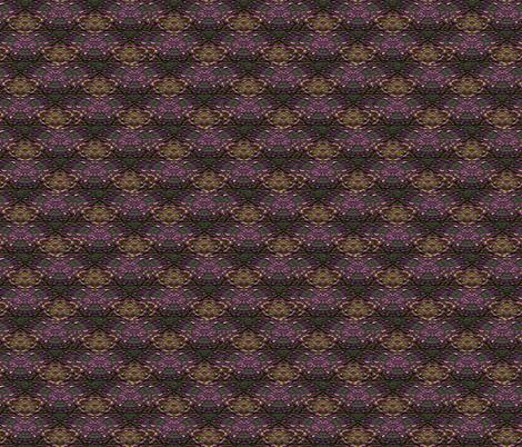 Garlic Mosaic  fabric by anniedeb on Spoonflower - custom fabric