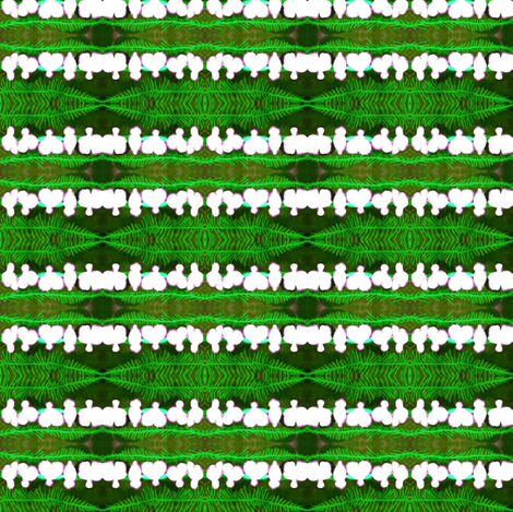 Bleeding Heart Stripe fabric by robin_rice on Spoonflower - custom fabric