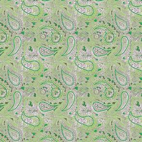 green paisley pattern :-)