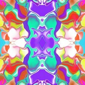 A Color Wave in a Mirror Repeat