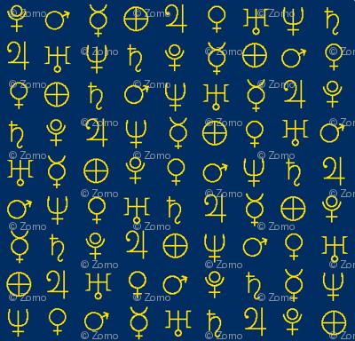 alchemy planet symbols 2