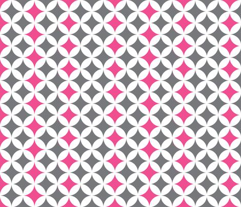 moddotsgreypink fabric by natitys on Spoonflower - custom fabric