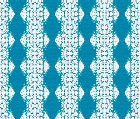 CYCLONE TEAL WEATHERVANE fabric by bluevelvet on Spoonflower - custom fabric