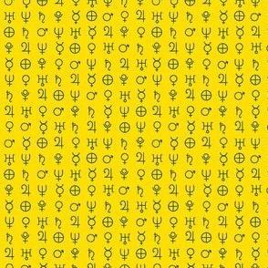 alchemy planet symbols 1