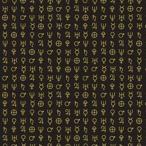 alchemy planet symbols 9