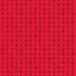 alchemy planet symbols 11
