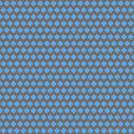 4 dot flower small fabric by hugo_lamarox on Spoonflower - custom fabric