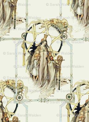 Glinda, Dorothy and Ozma ~ Three Royal Ladies of Oz