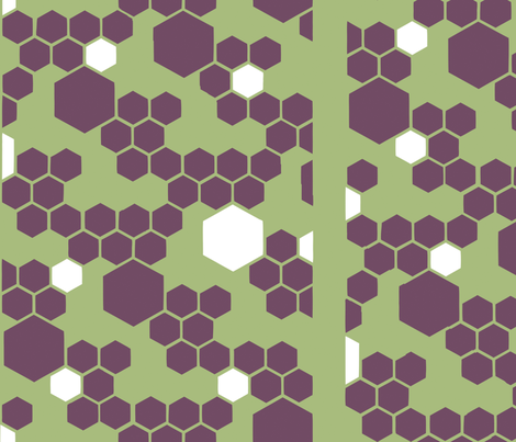 geoprint fabric by ladylikechaos on Spoonflower - custom fabric